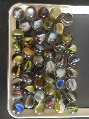 Vintage Marbles Various Sizes X 48 • 0.99£