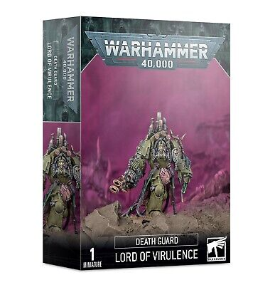 DEATH GUARD LORD OF VIRULENCE 20% Off Uk Rrp GW (pre-order) • 18.80£
