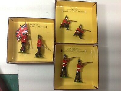 Britains Sets 8814, 8816, 8818 The Sherwood Foresters X 3 Sets. • 29.99£