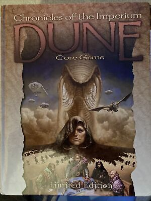 Dune Chronicles Of The Imperium Original No Reprint Role Play Game Hb Hc Rpg Vgc • 750£