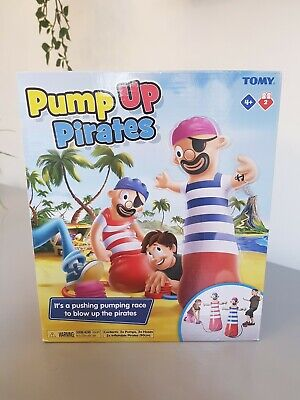 NEW T72993 TOMY Pump Up Pirates Inflatable Childrens Fun Game For Kids Age 4+  • 9.99£