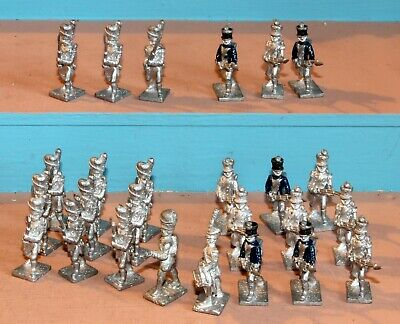 Wargames True 25mm Lamming Napoleonic French Infantry White Metal Figures • 12.99£