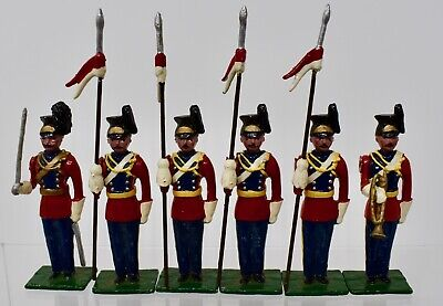 Blenheim Military Models -1970's-16th Lancers At Attention - Boxed-lot N60 • 29.99£