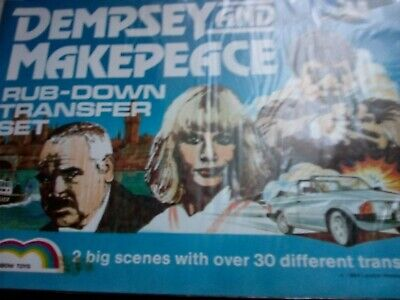 Dempsey And Makepeace Transfers.  New And Sealed. • 29.50£