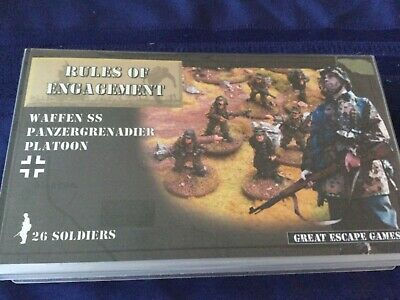 28mm GERMAN INFANTRY Rules Of Engagement • 18.99£