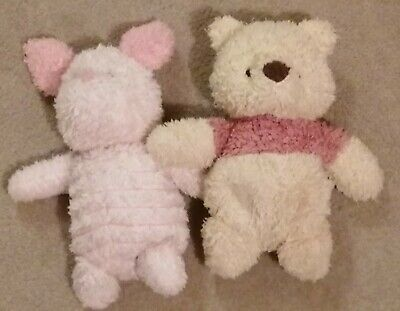Winnie The Pooh And Piglet Plush Cuddly Toys • 5£