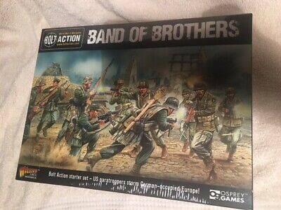Warlord Games BOLT ACTION Band Of Brothers Starter Game Box Set UNOPENED • 16£