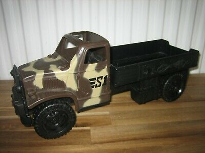 Large Army Military Camouflage Kids Toy Truck • 2.50£
