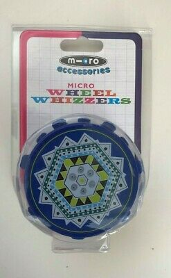 M-Cro Accessories Micro Wheel Whizzers / Blue New Free P&P UK Seller • 13.38£
