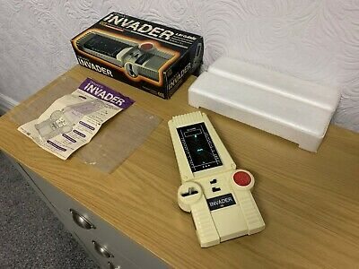 Incredible Boxed CGL Galaxy Invader Vintage 1978 Handheld Electronic Game - Mint • 190£