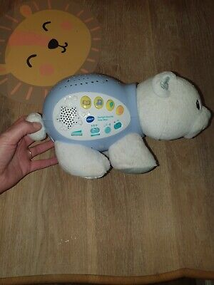 Vtech Starlight Sounds Polar Bear • 3.20£