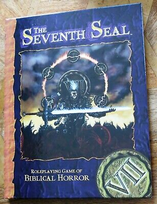 The Seventh Seal - Roleplaying Game Of Biblical Horror Rpg - Core - Hardcover • 27.99£