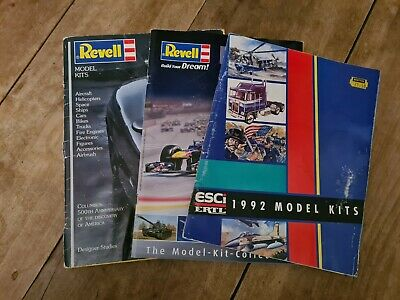 Various Revell Model Catalogues • 3.50£