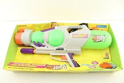 Vintage 1998 Larami SUPER SOAKER CPS 1500 Squirt Gun Water Toy NEW IN BOX • 200£