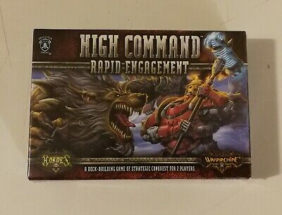 Privateer Press Warmachine Hordes High Command Rapid Engagement 2-Player Pack • 10£