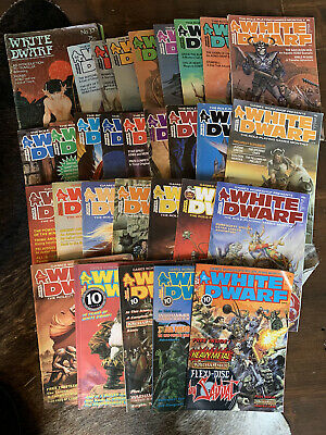 White Dwarf Magazines - Individual Issues 37 To 95 • 4.50£