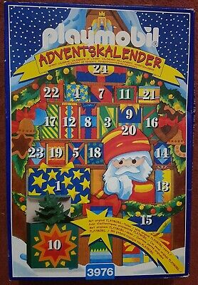 Playmobil 3976 Christmas Market Advent Calender Vintage 1998 • 15£