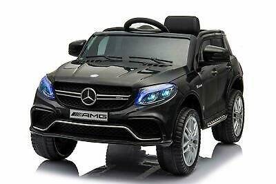 Licensed Mercedes AMG GLE 63 S 12V Kids Electric Ride On Car BLACK • 99£