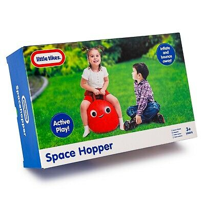 Little Tikes Space Hopper - Red 50cm Space Hopper With Handle For Kids 3+ • 7.99£