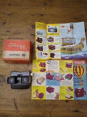 Vintage Model E 3-Dimension Viewer View-Master Model E Made In Belgium Brussels • 49.99£