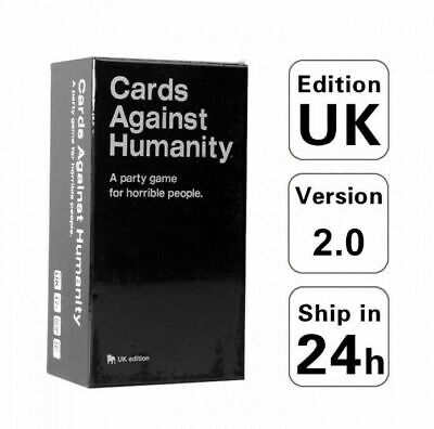 Cards Against Humanity UK Edition 2.0 600 Party Hot Game Card Full Base Set Pack • 15.89£