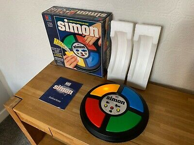 Boxed MB Games Simon Vintage 1978 Tabletop Electronic Game - Mint - Has Issues. • 160£