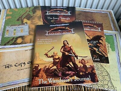 D And D Roleplaying Game , Dark Sun Collection Of Books , Incomplete • 17.80£