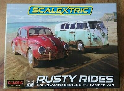 SCALEXTRIC C3966A VW  Rusty Rides  2 Model Set Ltd Edition Of 2000 NEW  • 94.95£