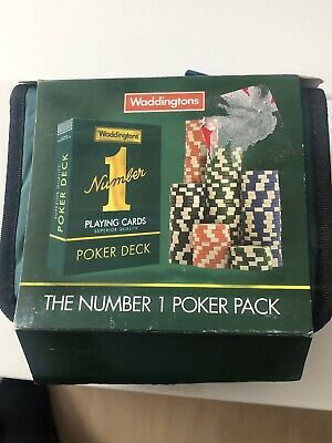 Waddingtons Poker Set • 5£