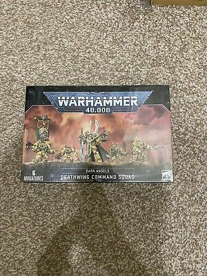 Warhammer 40k -  Deathwing Command Squad / Deathwing Knights • 27£