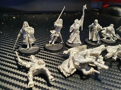 Warhammer Hobbit Lotr Metal Hero Lord Of The Rings Models Heros Good • 5.50£