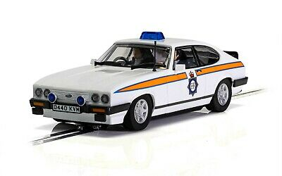 SCALEXTRIC C4153 Ford Capri MK3 - Greater Manchester Police Car • 43.95£