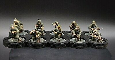 Well Painted 28mm Bolt Action German Grenadiers ×10 Squad #6 Ww2 Warlord Games  • 58£