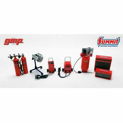 GMP 1:18 Summit Racing Shop Tool Set  - Accessories For Garage Diorama • 40.99£