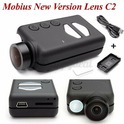 Mobius New Version Wide Angle Lens C2 1080P HD Mini Action Camera Recording UK • 66.49£