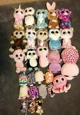 Joblot Bundle Of 27 Beanie Boos • 27.99£