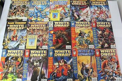 Complete Warhammer Quest White Dwarf Collection 184-208 (25) INC WQ INSERTS!* • 149.99£