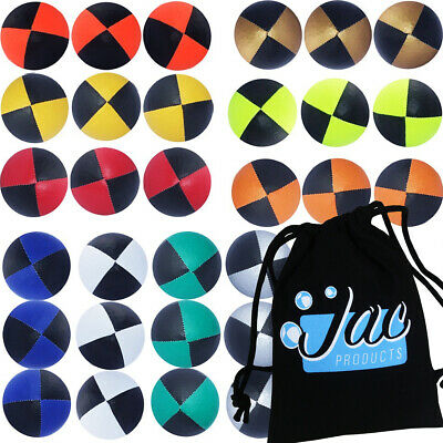 Juggling Balls, Set Of 3 Jac Products Juggling Balls  With Carry Bag  • 7.95£