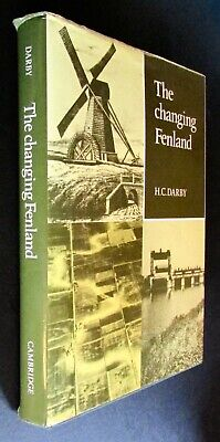 1983 First Edition: The Changing Fenland, By H. C. Darby • 28.99£