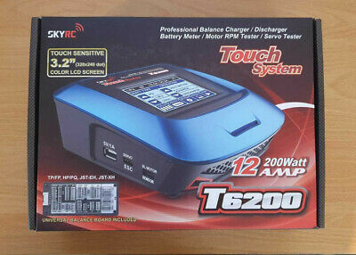 SKYRC T6200 Digital Multifunctional Charger (Touch Sensitive Colour LCD) • 59£