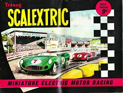 Vintage 1962 Scalextric Catalogue Third Edition With Price List • 14.99£