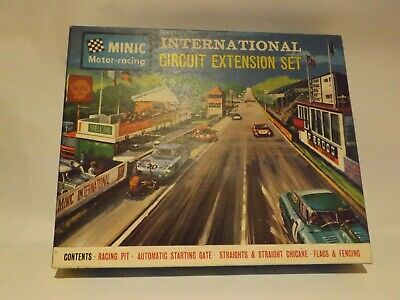 Minic Motorway 1531...international Circuit Ext Set ..incomplete Box Is Near Min • 35.99£