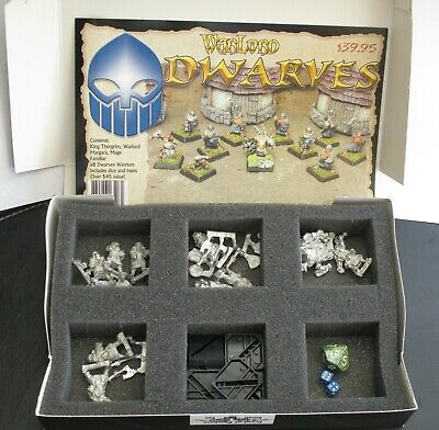 Reaper Warlord Boxed Dwarves Army Box Set - Complete And Never Made • 35£