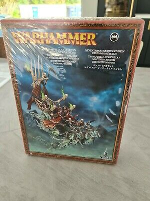 Warhammer Vampire Counts Covern Throme/Mortis Engine • 15£