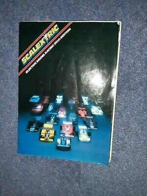 Vintage 1970s 1979 Scalextric Electric Model Racing Catalogue Book 20th Edition  • 1.99£