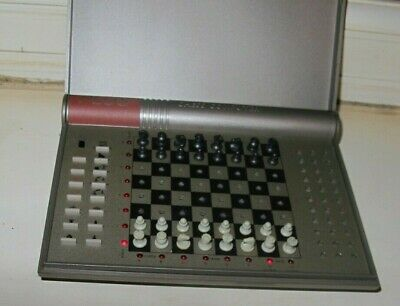 Boxed Kasparov Plus Chess Computer Opponent & Coach Computer Game • 20£
