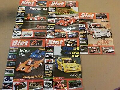Mas Slot International Slot Car Magazine 2003 No's 1-5 • 15£