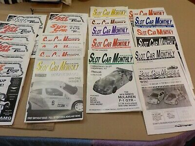 Slot Car Monthly Magazine Issues 1 To 24 1996-1998 • 20£
