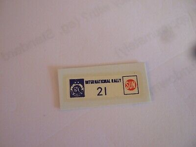 Replacement  Corgi Sun International Rally RAC Transfer No21 • 1.99£