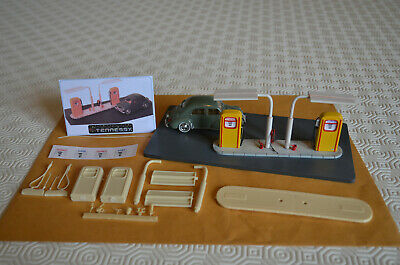 DIORAMA 1/43éme - KIT POMPES A ESSENCE  ANNEES 50  By TENNESSY 43ST03 • 12.06£